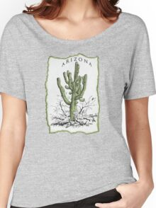 Giant Saguaro ARIZONA tee Women's Relaxed Fit T-Shirt
