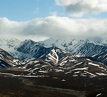 Alaska Mountain Range by Paul Anderson