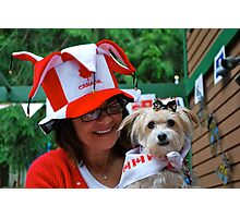 Celebrating CANADA DAY! Photographic Print