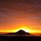 Yacabba Headland Firey Sunrise by JimDodd