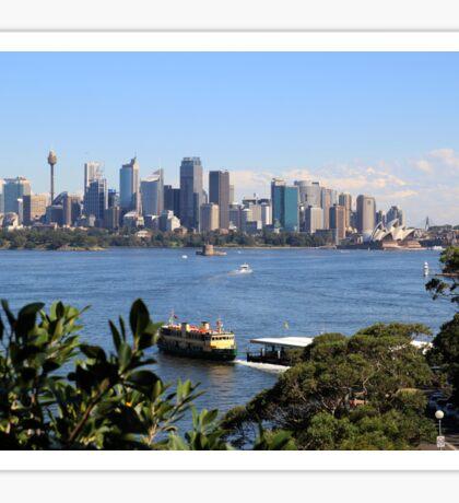 City of Sydney Skyline - Photo - Australian Harbor City Sticker