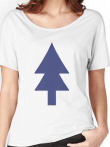 Dipper Pine Tree Women's Relaxed Fit T-Shirt