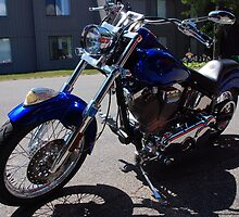 Motorcycle Indian 2001 by John Schneider