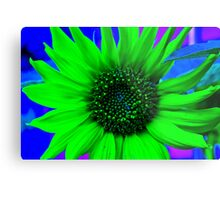Psychedelic Sunflower Metal Print