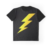Zap Bang Cartoon Lightening Bolt Cell Phone Case Graphic T-Shirt