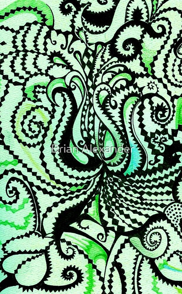 Sea Green by Brian Alexander