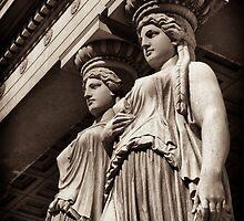 temple caryatids by debrapeck