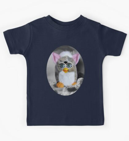 ☀ ツFURBY IN CLOUDS COMING TO LIVE ON EARTH TEE SHIRT (KIDS -ADULT TEES) ☀ ツ Kids Tee