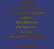 Dr. Seuss quote -- equal rights by nerdydyke