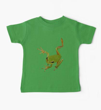 European Green Tree Frog Isolated Baby Tee