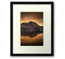 Burn It Framed Print