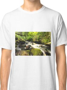 The unidentified stream in Hillerstorp I Classic T-Shirt