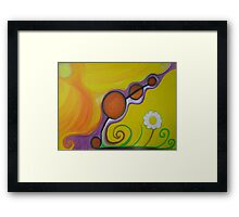 Joy - The emotion of great happiness. Framed Print