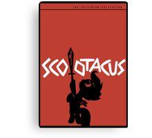 Scootacus - Spartacus Parody Canvas Print