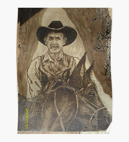 Cowhand Riden Poster