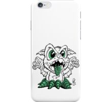 Octobat Ink and Green iPhone Case/Skin