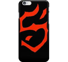 The Mark of Scath Inspired Shirt iPhone Case/Skin