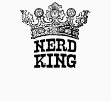 Nerd King Crown Logo (Black Ink) Unisex T-Shirt