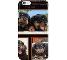 Rottweiler Memories iPhone Case/Skin
