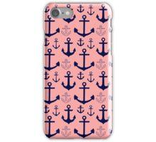 Anchor Pattern iPhone Case/Skin