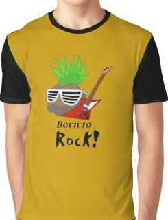 Born to Rock Graphic T-Shirt