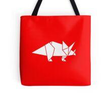 Prehistoric Origami - Triceratops  Tote Bag