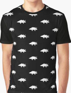 Prehistoric Origami - Triceratops  Graphic T-Shirt