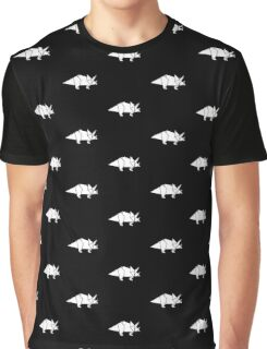 Prehistoric Origami - Triceratops  Graphic T-Shirt