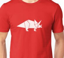Prehistoric Origami - Triceratops  T-Shirt