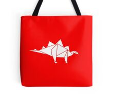 Prehistoric Origami - Stegosaurus Tote Bag