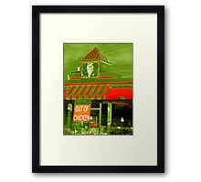 Out Of Chicken Framed Print