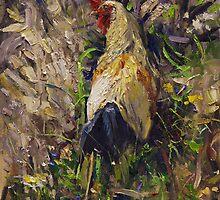 Cockerel by Oleg Trofimoff