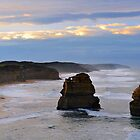 Gibson Steps. Port Campbell National Park, Victoria, Australia. (3) by Ralph de Zilva