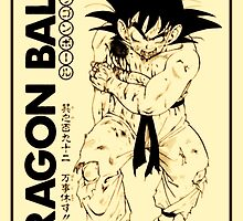 Son Goku by Falcomm