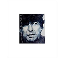 "Old Ideas "" Leonard Cohen "" Photographic Print"