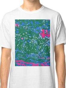 blue and green strata Classic T-Shirt