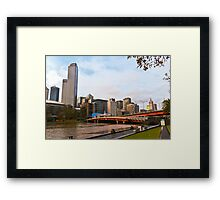 The Yarra River Framed Print