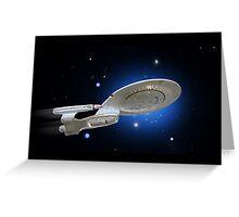 USS Enterprise Greeting Card
