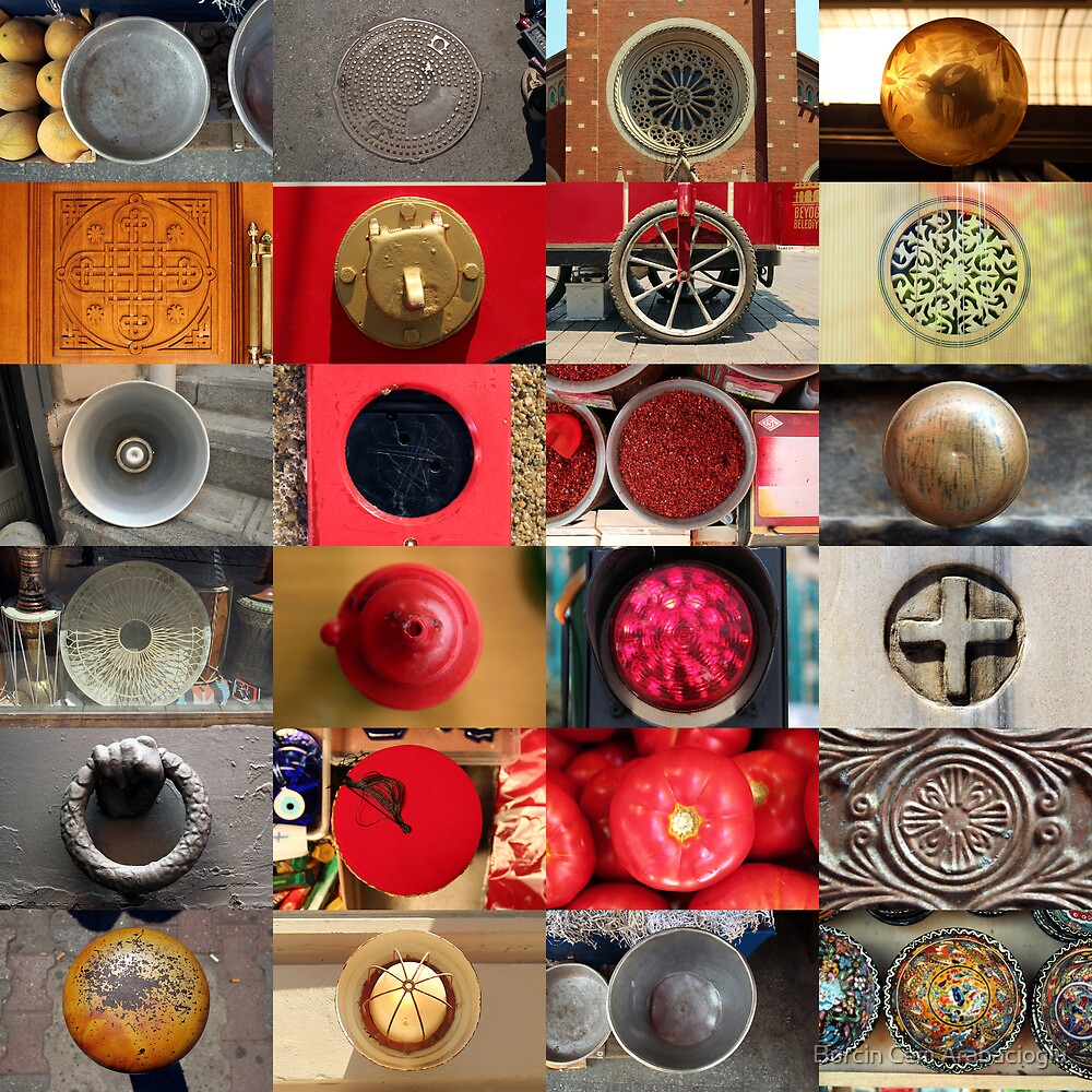 24 City Circles  by Burcin Cem Arabacioglu