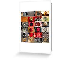 24 City Circles  Greeting Card