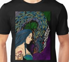 Dragon and Rider Unisex T-Shirt