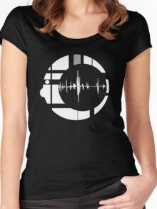 SOUNDMAN Women's Fitted Scoop T-Shirt