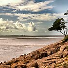 Morcambe Bay  by Irene  Burdell