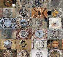 24 City Circles  by Burcin Cem Arabacioglu