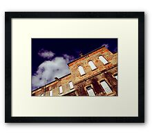 The Sky, My Only Escape Framed Print