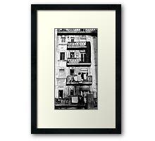 Early morning in Barcelona Framed Print