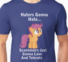 Scootlaoo Love Everyone! Unisex T-Shirt