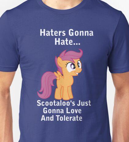 Scootlaoo Love Everyone! Unisex T-Shirt