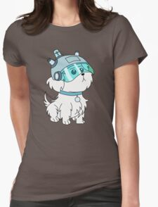 Snuffles/Snowball (Rick and Morty)  Womens Fitted T-Shirt