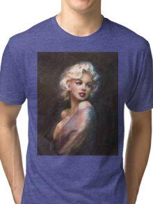 Marilyn WW Romantic Soft Tri-blend T-Shirt